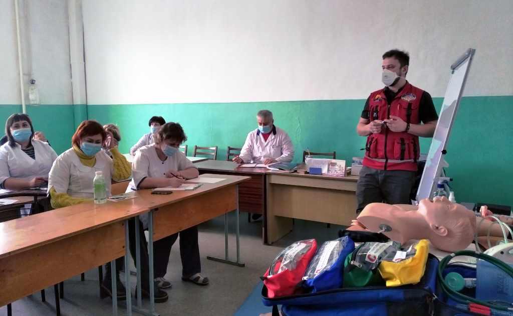 Вінницький шкірно-венерологічний центр: Тренуємось надавати екстрену та невідкладну медичну допомогу